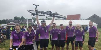 Team Lindsays saddle up to support Tour de Forth sportive