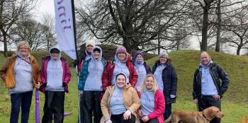 Lindsays' staff staged a volunteer takeover to help hundreds taking part in Falkirk parkrun event
